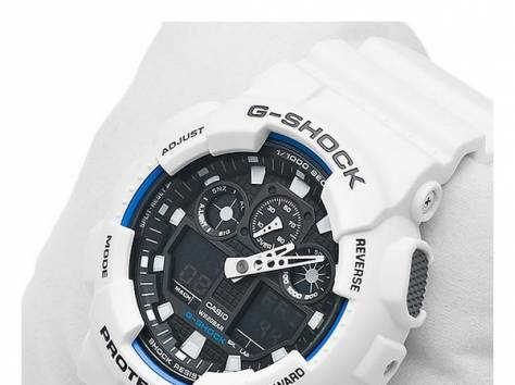 Часы Casio G-Shock GA-100, фотография 6
