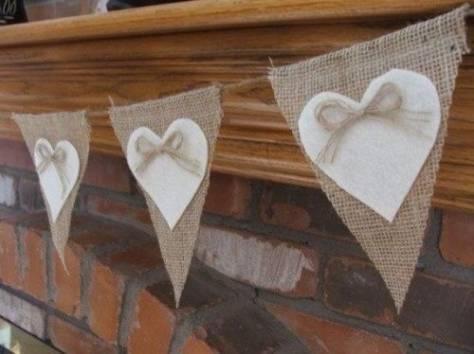 Декор на свадьбу своими руками в стиле рустик