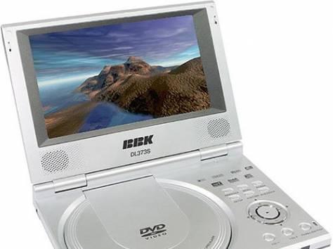 Портативный DVD-плеер BBK-DL 372SI , фотография 1