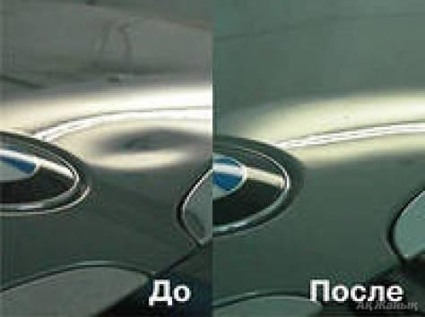 Удаление вмятин на автомобиле в Иркутске, фотография 1