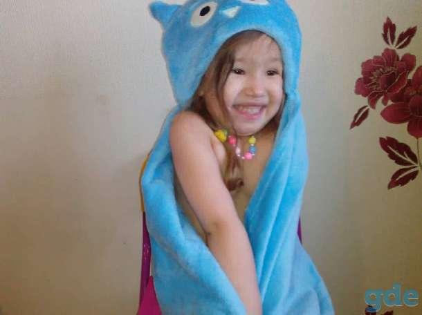 Детский Плед-Полотенце с капюшоном, фотография 6