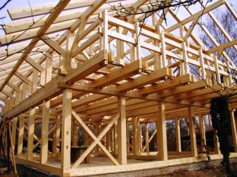 Деревянные конструкции фото