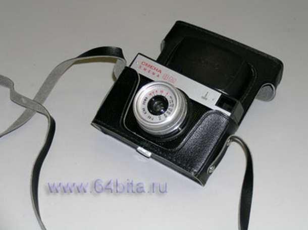 Продаю Фотоаппарат Смена 8м в черном футляре., фотография 1