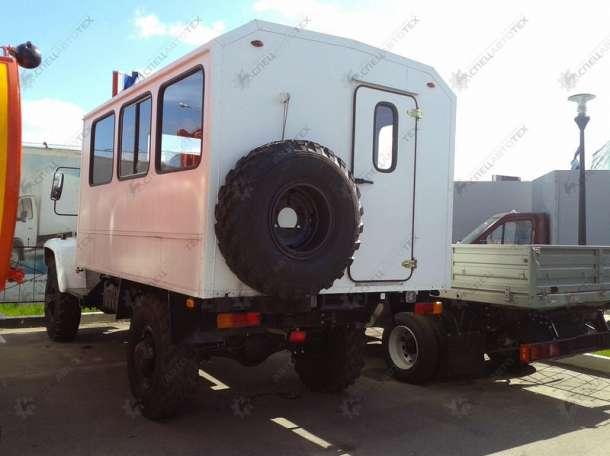 Вахтовка Садко. Вахтовый автомобиль на шасси ГАЗ-33081 и ГАЗ-3309, фотография 2