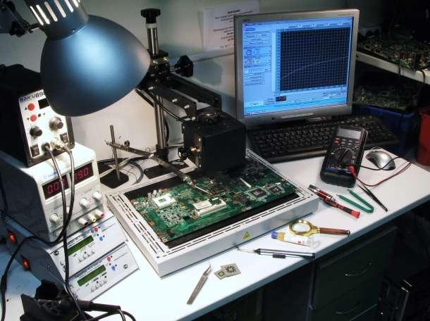 Настройка и ремонт компьютеров, ноутбуков, смартфонов, фотография 1