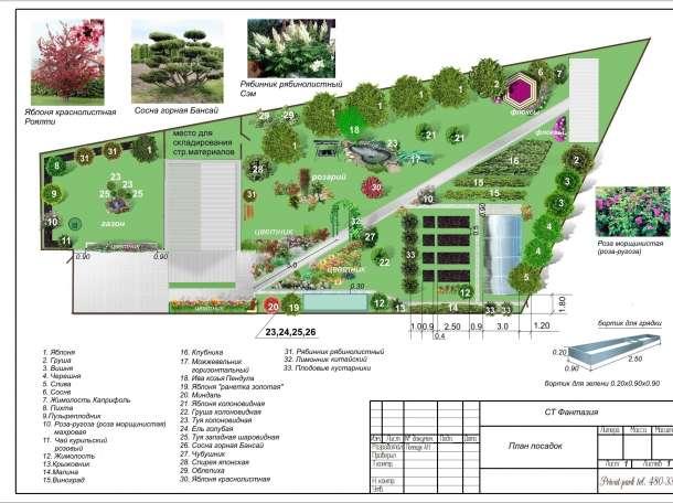 Ландшафтное проектирование и дизайн, фотография 3
