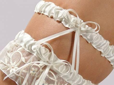 Подвязка на ножку невесты, фотография 4