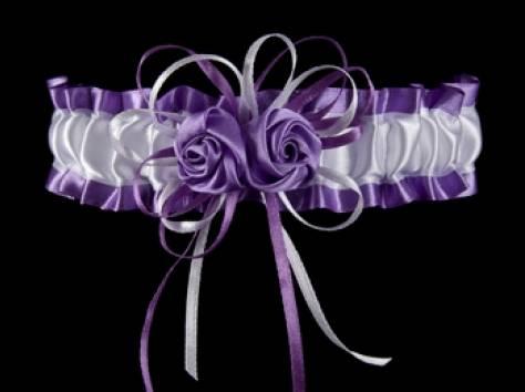 Подвязка на ножку невесты, фотография 7