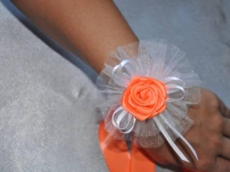 Повязки на руки подружкам невесты своими руками