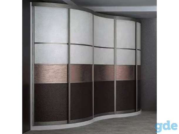 Радиусный шкафы купе, фотография 6