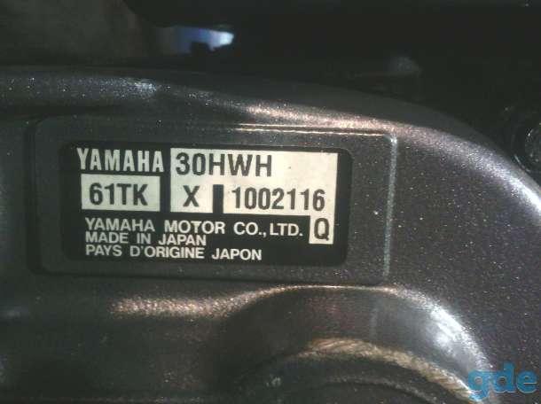 подвесной лодочный мотор Yamaha 30, фотография 6
