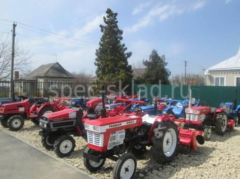 Японские мини-тракторы б\у, фотография 1