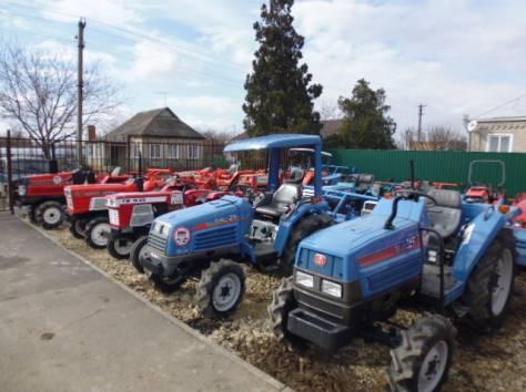 Японские мини-тракторы б\у, фотография 2