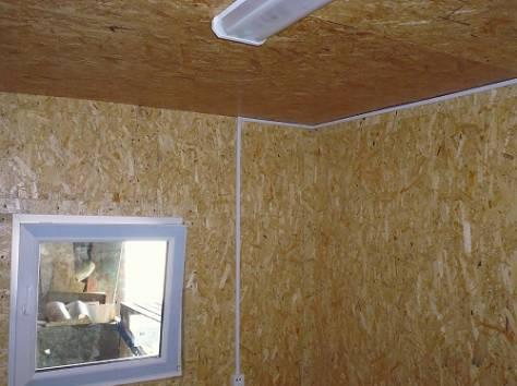 Дачные домики с обшивкой из цветного профлиста., фотография 6