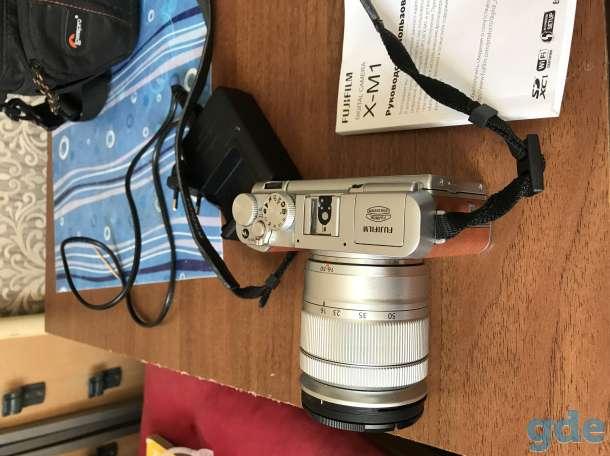 Фотоаппарат Fujifilm X-M1 kit 16-50, фотография 1