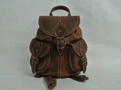 Кожаный рюкзак от производителя!, фотография 2
