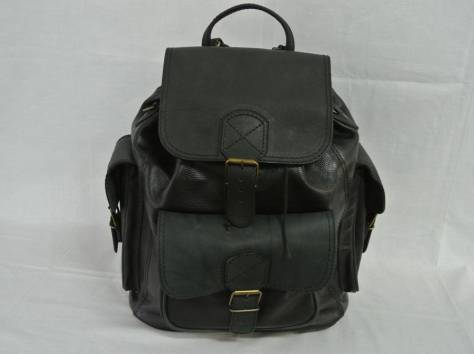 Кожаный рюкзак от производителя!, фотография 4