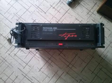 усилитель профессиональный аудио раа-600р 600вт, фотография 1