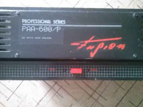 усилитель профессиональный аудио раа-600р 600вт, фотография 2