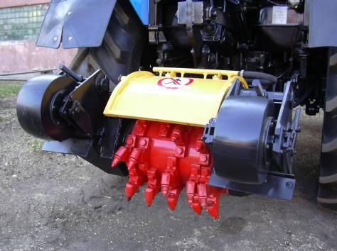 Фреза дорожная навесная для ямочного ремонта ДЭМ-121, фотография 2