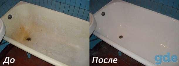 Реставрация ванн жидким Акрилом, фотография 6