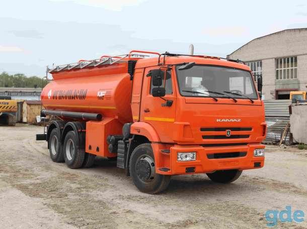 Топливозаправщик КАМАЗ 65115 АТЗ-14 (новый бензовоз), фотография 2