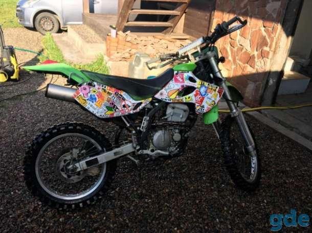 Мотоцикл  Kawasaki KLX 250, фотография 1