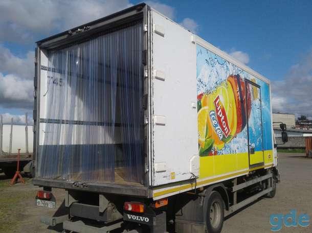 Мобильные полосовые ПВХ-завесы Frostwall® для фургона, фотография 11