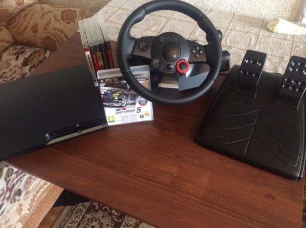 PS3 +Руль Logitech Driving Force™GT  , фотография 4