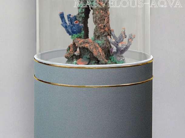 Продам аквариум цилиндрический на 152л, фотография 4