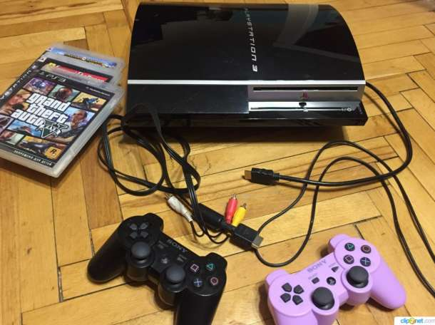 Продам Sony PlayStation 3 Fat (PS3) 40gb, фотография 2