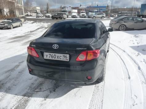 Toyota Corolla Black, 2007, 91000 км, робот, 1.6 л, фотография 4