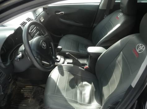Toyota Corolla Black, 2007, 91000 км, робот, 1.6 л, фотография 6