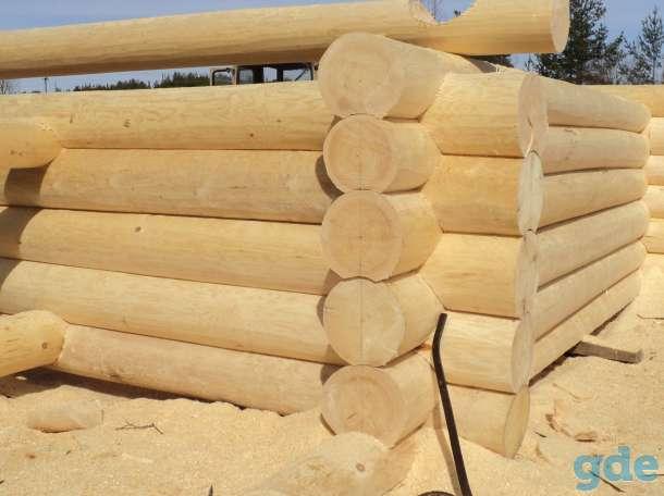 Изготовление срубов из круглого леса