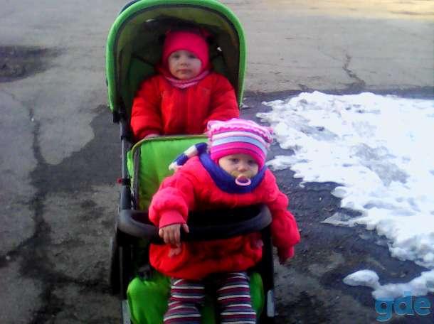 коляска для двойни, фотография 1