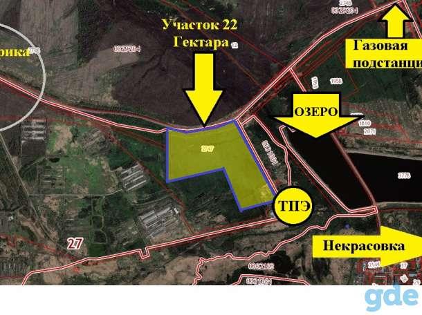 22 гектара под сельхозпроизводство в Некрасовке, Некрасовка, фотография 7