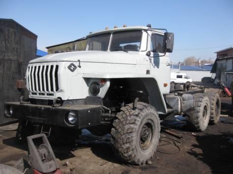 Продам а/м Урал шасси ЯМЗ238, с усиленной рамой (полный кап. ремонт 2015), фотография 4