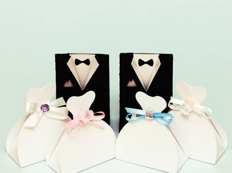 Бонбоньерки-подарки гостям, пригласительные, цветочная арка Прочие личные вещи в Ростове-на-Дону - Мода, личные вещи на Gde.ru 0