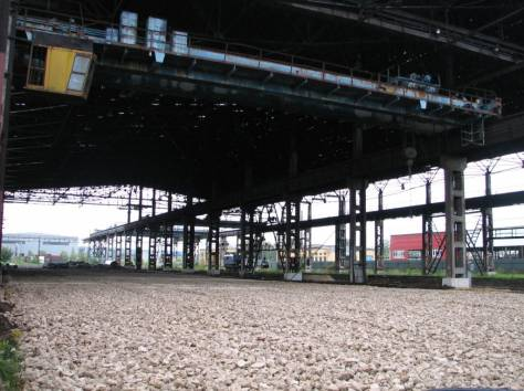Открытая площадка, холодный склад, фотография 2