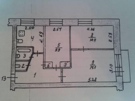 3-х комнатная квартира г.Краснокамск, фотография 12