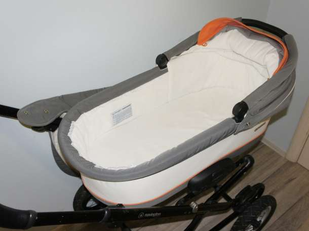 Продам детскую коляску Navington Galeon 2 в 1 в отличном состоянии, фотография 9