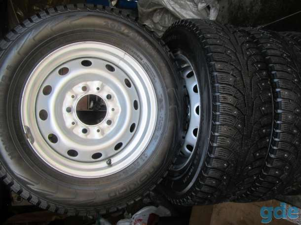 Комплект колес на дисках для Шеви, фотография 1