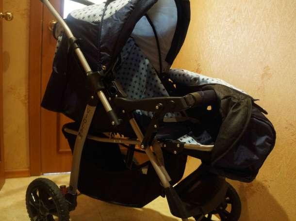 Продам детскую коляску-трансформер в отличном состоянии, фотография 4