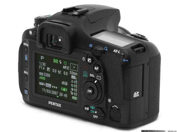 Фотоаппарат Pentax 20D с объективом Sigma 18-50 2.8-4 PENTAX, фотография 2