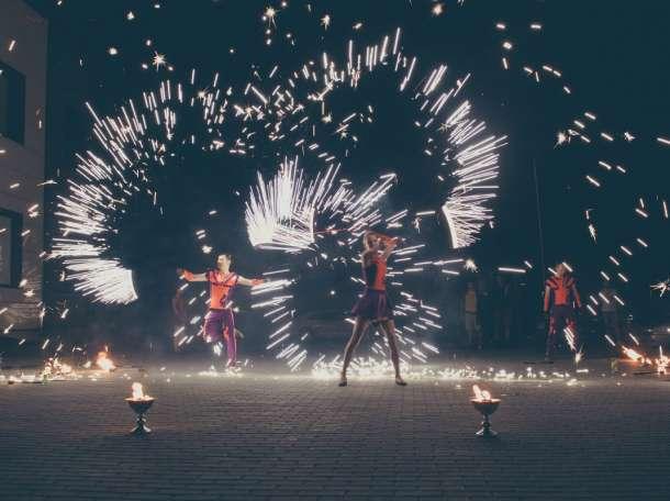 Огненное шоу на свадьбу фаер шоу, фотография 4