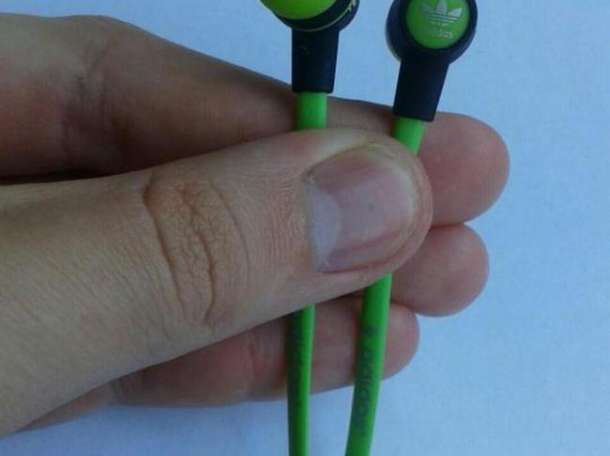 Наушники Adidas Sport Green, фотография 1