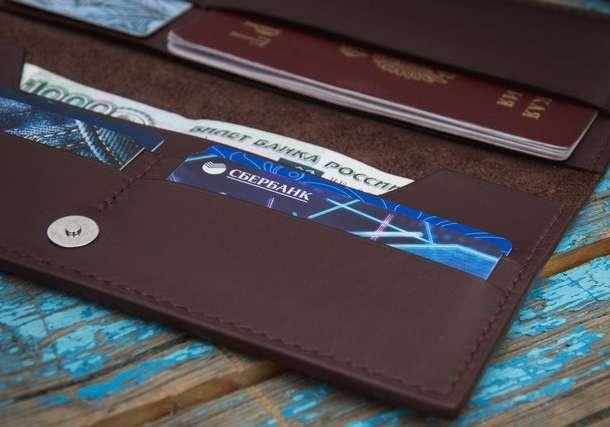 Аксессуары из кожи: портмоне, кошельки, сумочки, обложки для документов, фотография 2