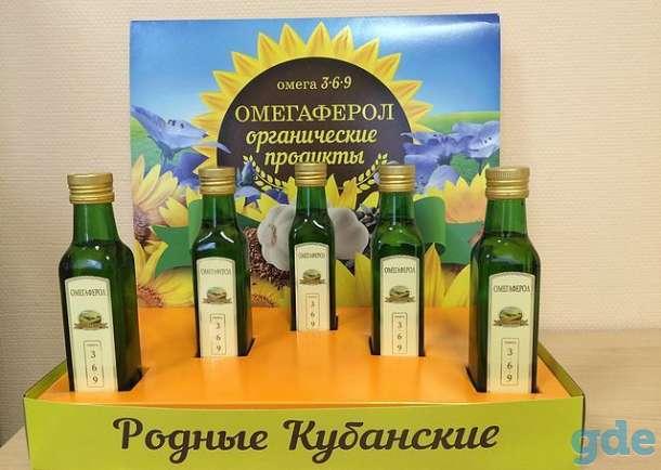 100% натуральное, органическое масло ОМЕГАФЕРОЛ, фотография 1