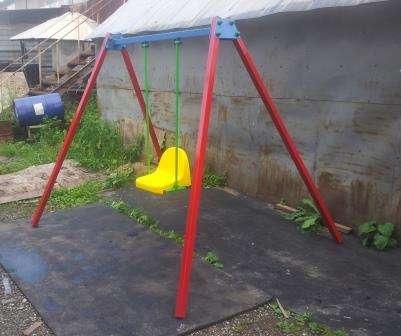 Детские качели во дворы на жесткой сцепке., фотография 6