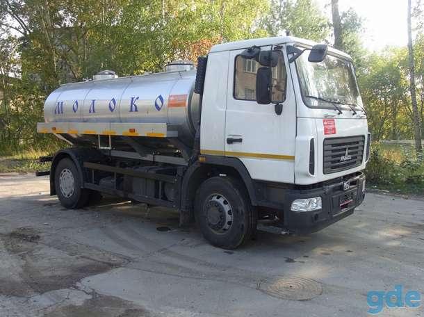 Молоковоз МАЗ 5340В2 9,0 м3 (новый водовоз), фотография 1